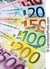 vario, euro, banconote,