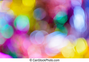 Bokeh background - Abstract colorful circular bokeh...