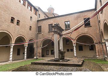 Ferrara Italy - Ferrara Emilia-Romagna, Italy: court of...