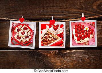 doux,  valentines, fête