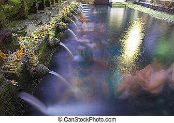 holy - Holy Spring Water Tirta Empul Hindu Temple , Bali...