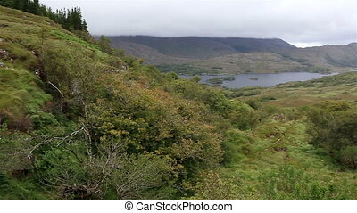 Beautiful landscape of Ladies View in Killarney National...