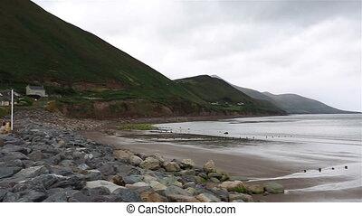 Beach on the Atlantic Ocean.