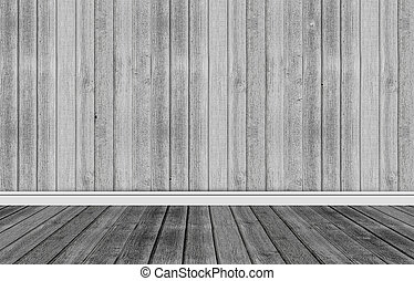 Wood background with skirting floor - Wood background with...