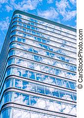 建築物, 高,  Windows, 辦公室