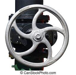Steam Engine Valve Wheel