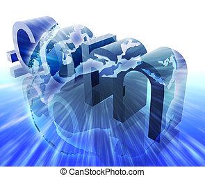 Dot com internet - Dot com website internet web url Europe...