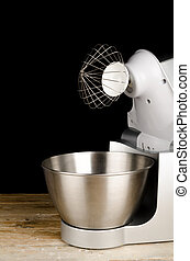 Whisk on food processor - Modern food processor with a whisk...