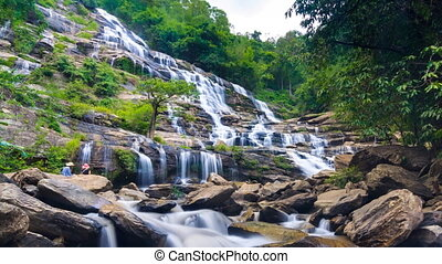 MAEYA Waterfall Of Thailand - MAEYA Waterfall Famous Cascade...