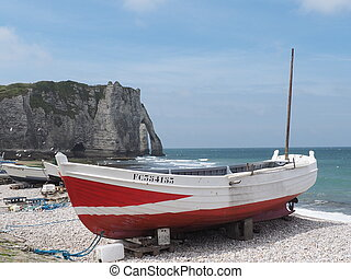 france, normandie, etretat,