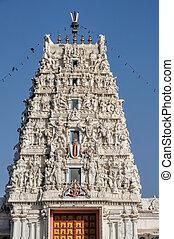 Temple in Thar Desert - Facade of temple in Thar Desert