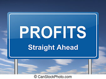 profits sign