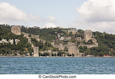 Rumeli Hisari Fortress in Istanbul, Turkey - The beautiful...