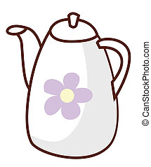 flagon - a nice picture of a white flagon