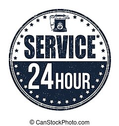 24 hour service stamp