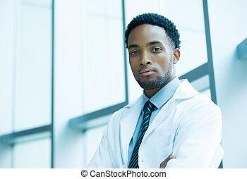 Confident heatlhcare professional - Closeup portrait...