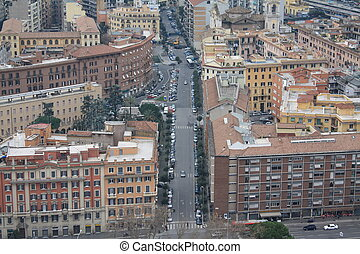 View of buildings in Rome
