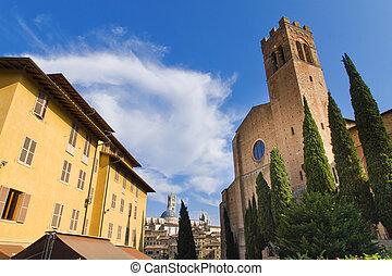 Siena - Panorama of Siena, Tuscany, Italy