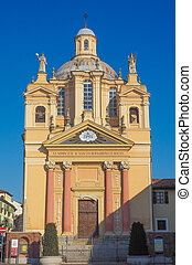 Church of San Bernardino meaning St Bernardine in Chieri -...