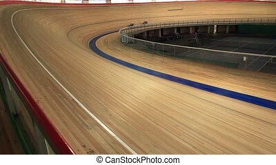 Cycling race Indoor track