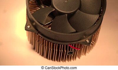 Close-up View of Bitcoin Scrypt Miner - This Bitcoin Scrypt...