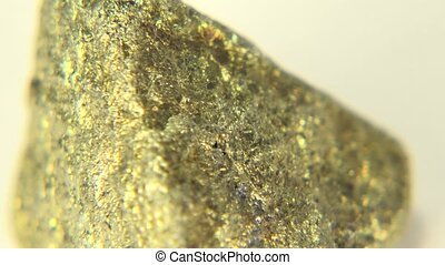 Copper Ore Chalcopyrite - A closer view of Copper Ore...