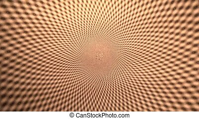 Spiral Background Deep Hole - An abstract spiral hole for a...