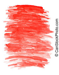 macro abstract texture red watercolors brush strokes - macro...