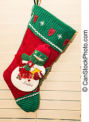 Christmas Stocking Hanging - A festive Christmas stocking...