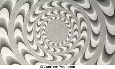 Melting Spiral Background - An abstract background of a...