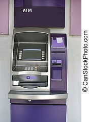 ATM Cash machine Cashpoint - Bank machine or hole in the...
