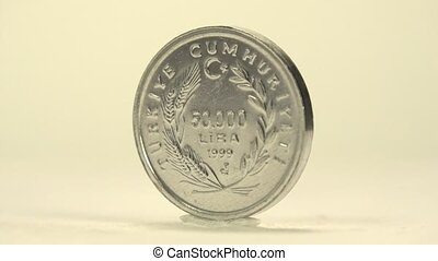 Turkish Lira 50,000 Denomination - Another 50000 lira coin...