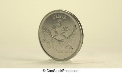 Kiribati 5 Cent - This 5 Cent Kiribati coin obverse depicts...