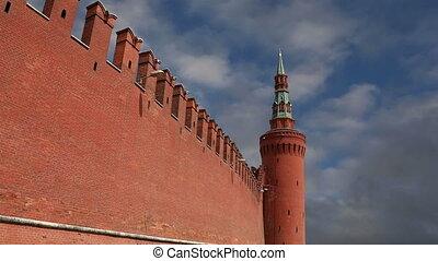 Kremlin Wall  --   Moscow Kremlin