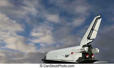 Buran spacecraft - The Buran spacecraft -- Soviet orbital...