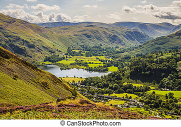 Glenridding and part of Ullswater - Glenridding and part of...