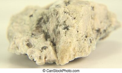 A Splice of Albite Feldspar - A splice of white albite...