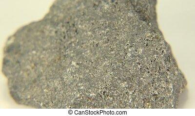 Basalt Clear Shot - A clear video shot of basalt from...