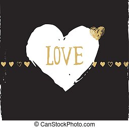 valentines day and wedding greeting card and invitation