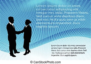 business people abstract background - business people...