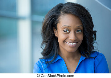 Professional headshot - Closeup portrait, young...
