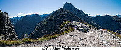Polish High Tatras mountains