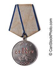 Old soviet medal