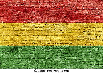 colores, de, Reggae, Música,