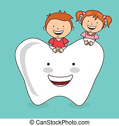 dental care design, vector illustration eps10 graphic