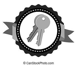 keys icon design