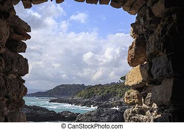 Portovenere cliff