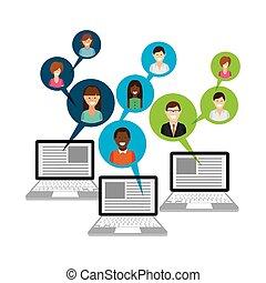 blog template design - blog template design, vector...