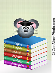 Language course - illustration of language course
