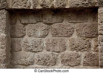 piedra, textura,